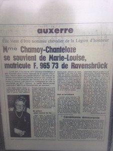 Récit de MFB=Marie-France Billet amie intime de La famille tristement décédée prématurément.